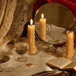 гадание-на будущее со свечей водой и зеркалом